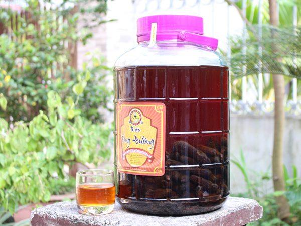 rượu chuối hột thơm ngon bổ dưỡng