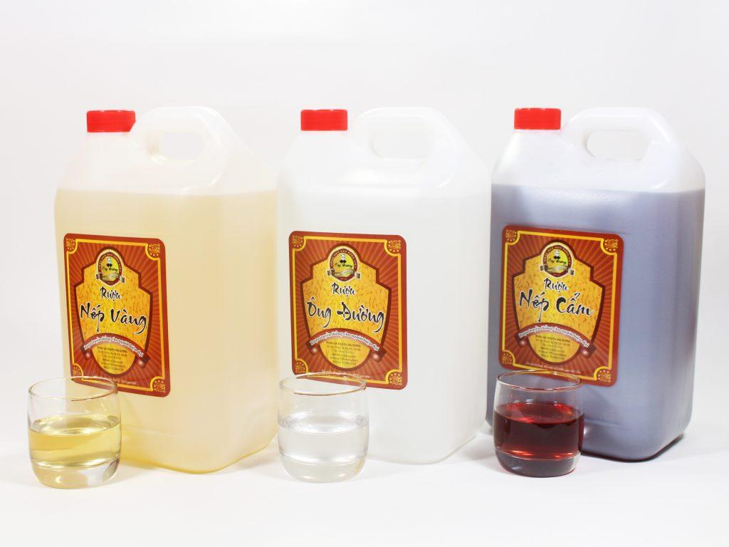 Các sản phẩm được khách hàng sử dụng nhiều của Rượu Ông Đường