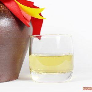 rượu nếp cái hoa vàng có màu sắc rất đẹp mắt