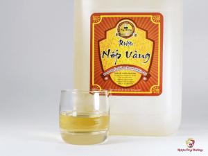 Tác dụng của rượu nếp cái hoa vàng