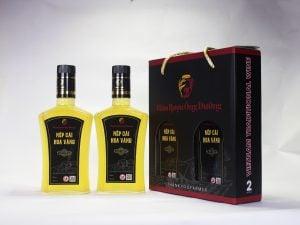 Giới thiệu hộp rượu nếp cái hoa vàng cao cấp thương hiệu Ông Đường