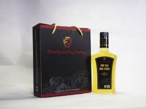 rượu được sản xuất thủ công