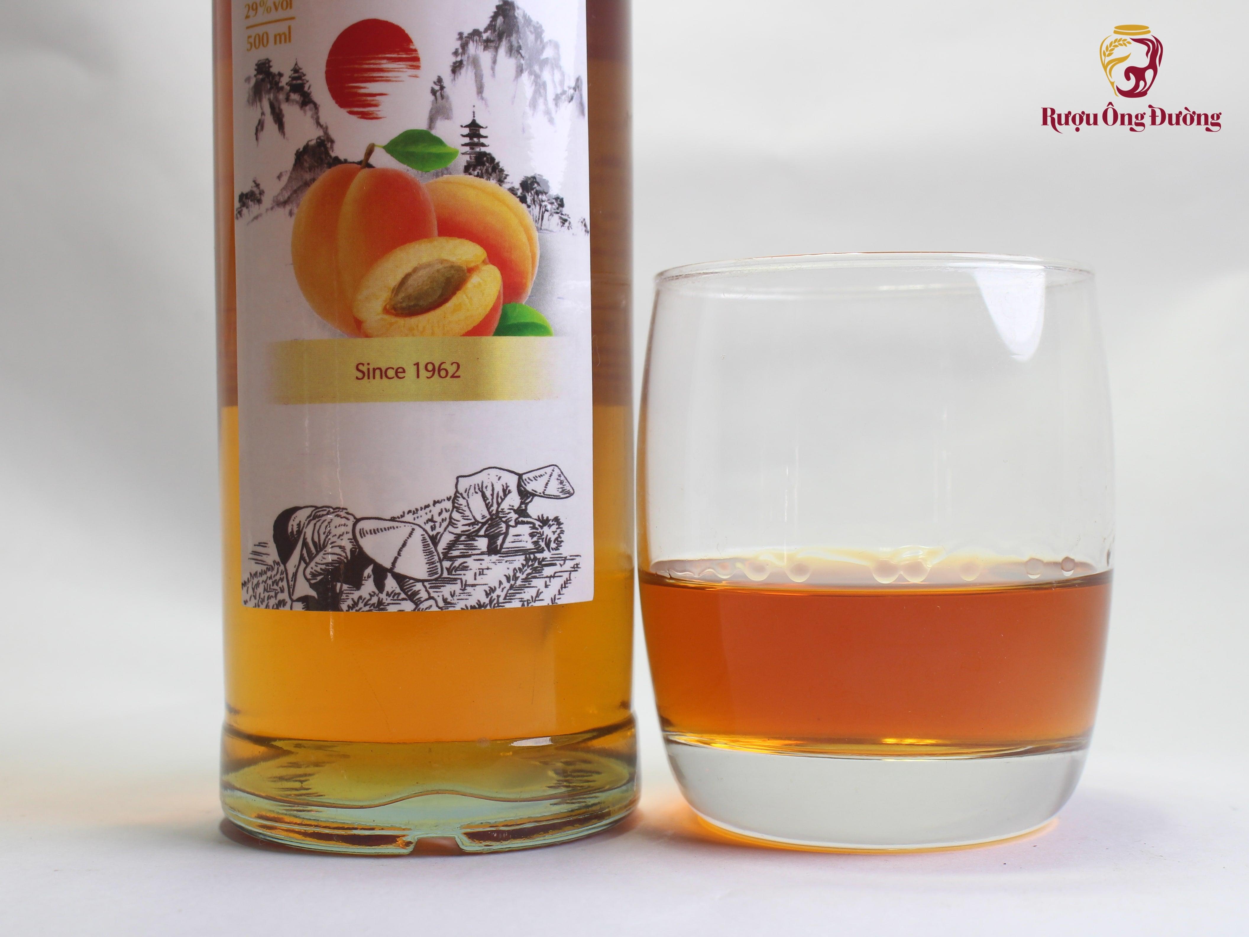 Rượu Mơ Ngâm Nguyên Chất ( Chai 500ml )