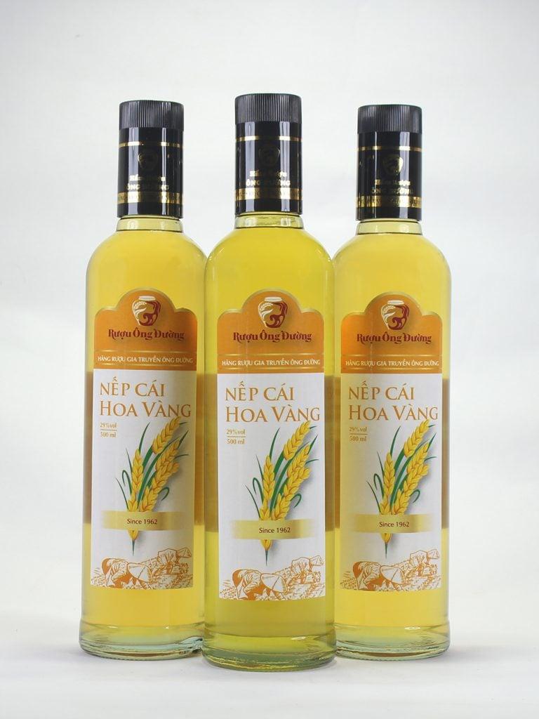 Hình ảnh Rượu Nếp Cái Hoa Vàng ( Chai 500ml )